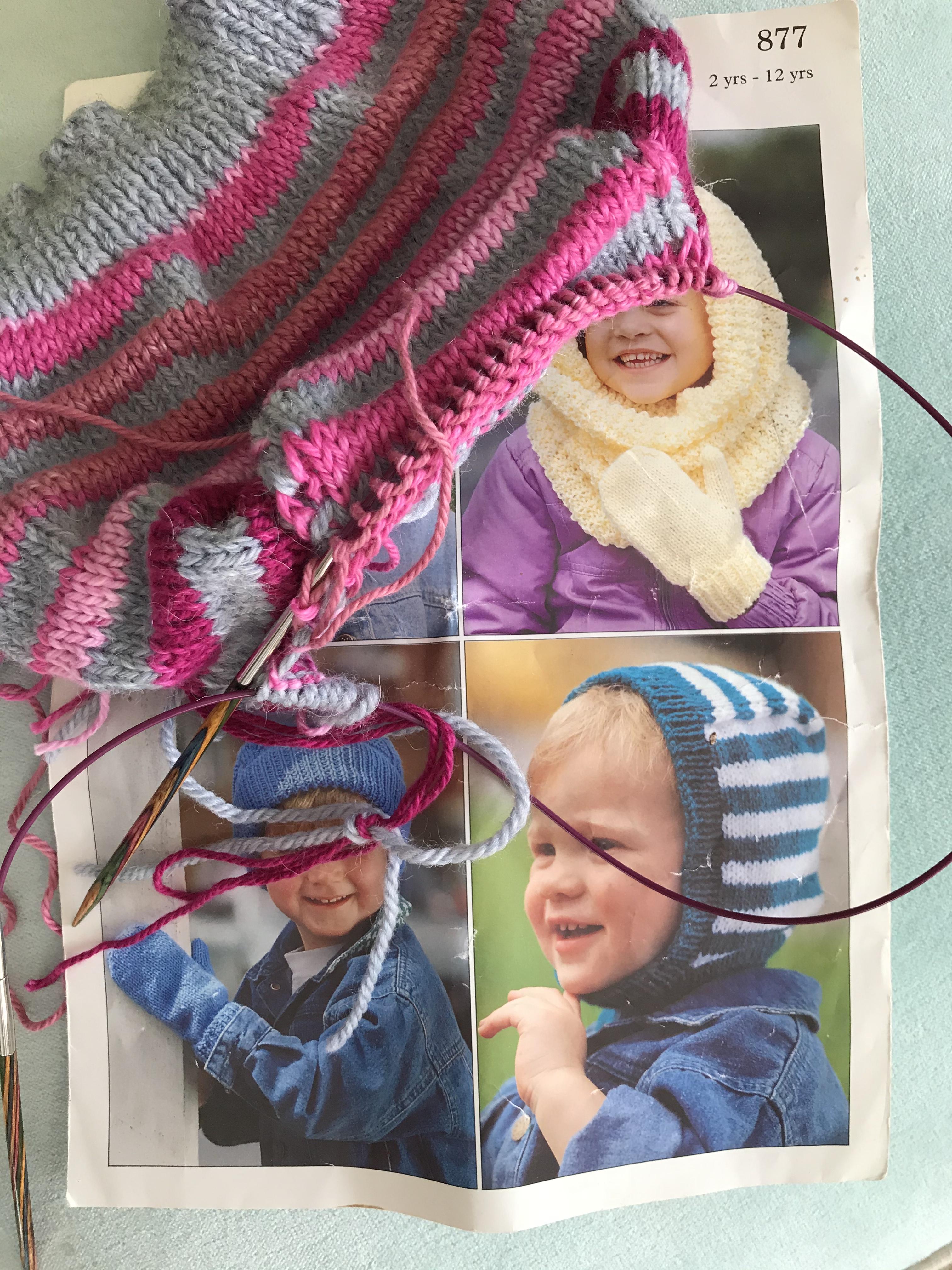 Knitting blog