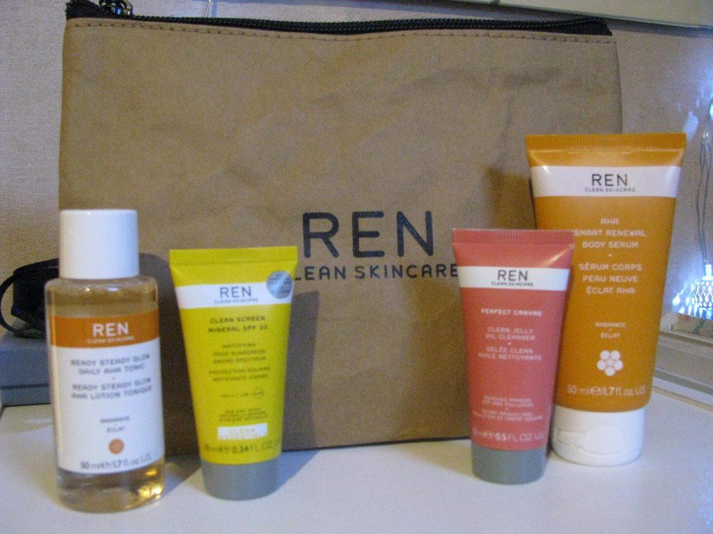 REN clean skincare review