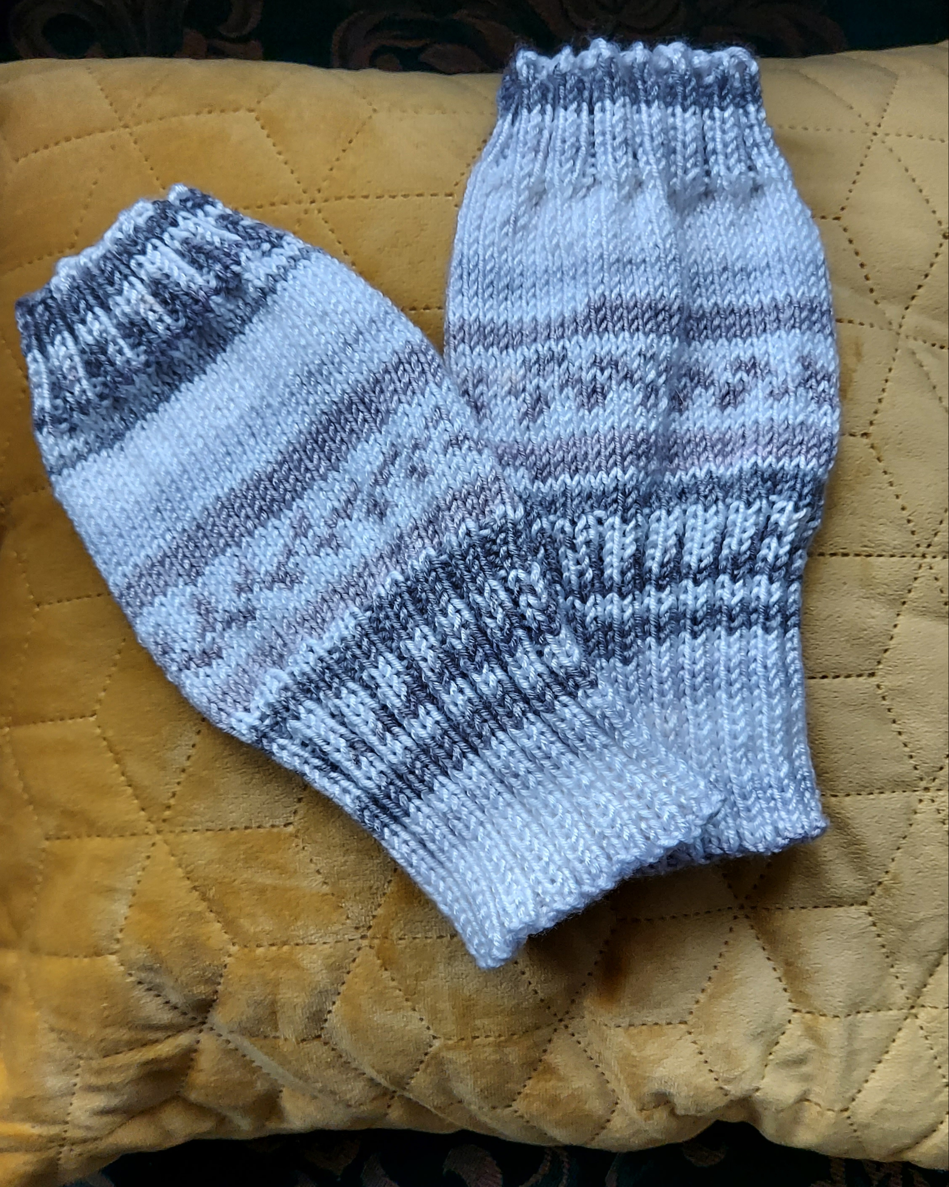 Hand knit legwarmers
